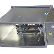 Электрический воздухонагреватель для прямоугольных каналов серии ЭНП