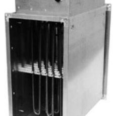 Канальный электронагреватели дль прямоугольных воздуховодов PBER