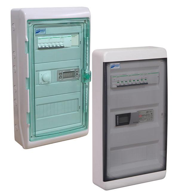 Щиты управления вентиляционные с водяным калорифером типа ЩУВВК