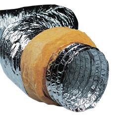 Теплоизолированные алюминиевые воздуховоды ISOAFS-ALU SHINE