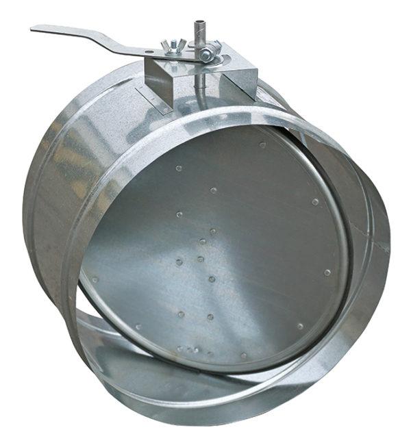 Заслонки круглого сечения АЗД-133м-РП, АЗД-133-РП, АЗД-136-РП